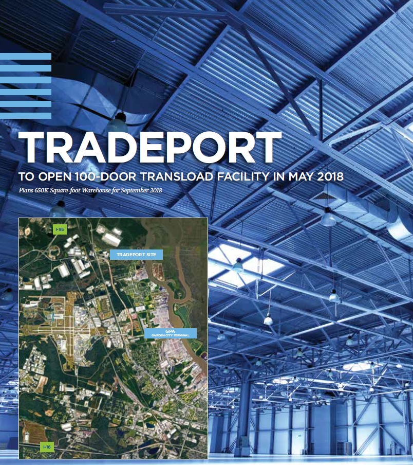 TRADEPORT LOGISTICS LLC and MDH Partners LLC have announced plans for a 100- door transload facility and a 650000 square-foot fulfillment center at the ...  sc 1 th 238 & TradePort Logistics u2013 Transloading is part of our DNA